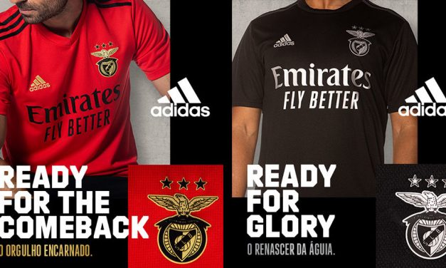 Les nouveaux maillots de foot Benfica 2021