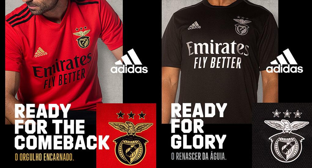 Benfica 2021 les nouveaux maillots de football