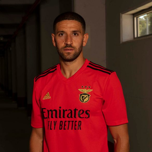Benfica 2021 maillot domicile Adidas
