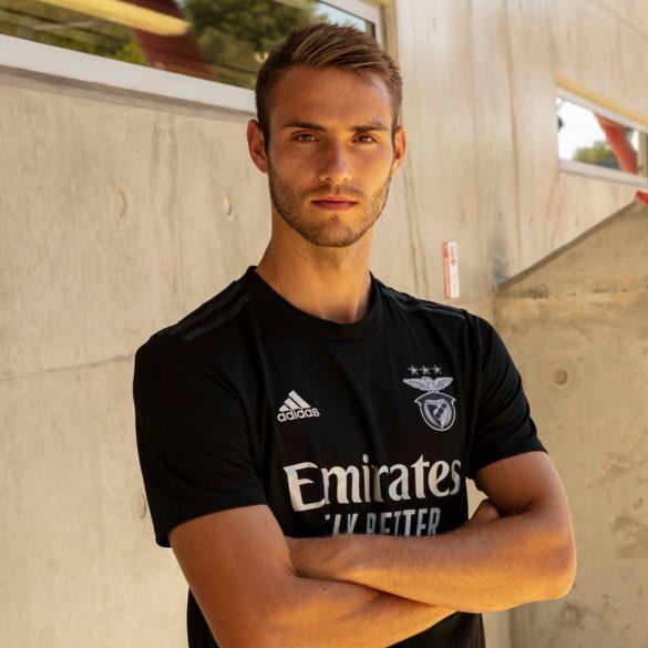 Benfica 2021 maillot exterieur Adidas foot