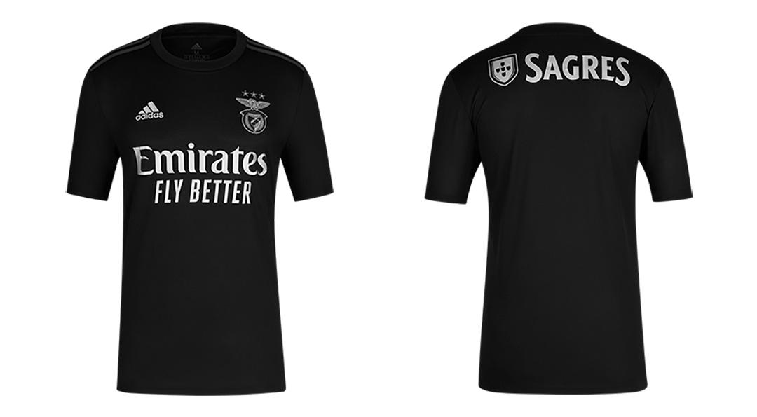 Benfica 2021 maillot exterieur Adidas