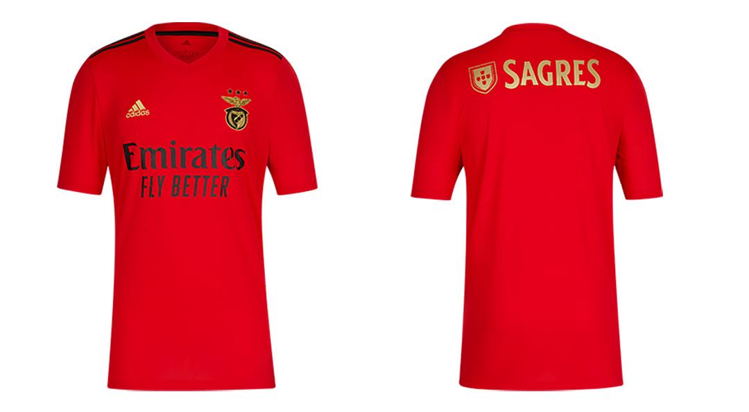 Benfica 2021 nouveau maillot domicile Adidas