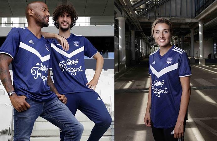 Bordeaux 2021 maillot de football domicile
