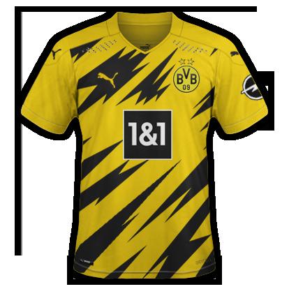 Dortmund 2021 nouveau maillot domicile