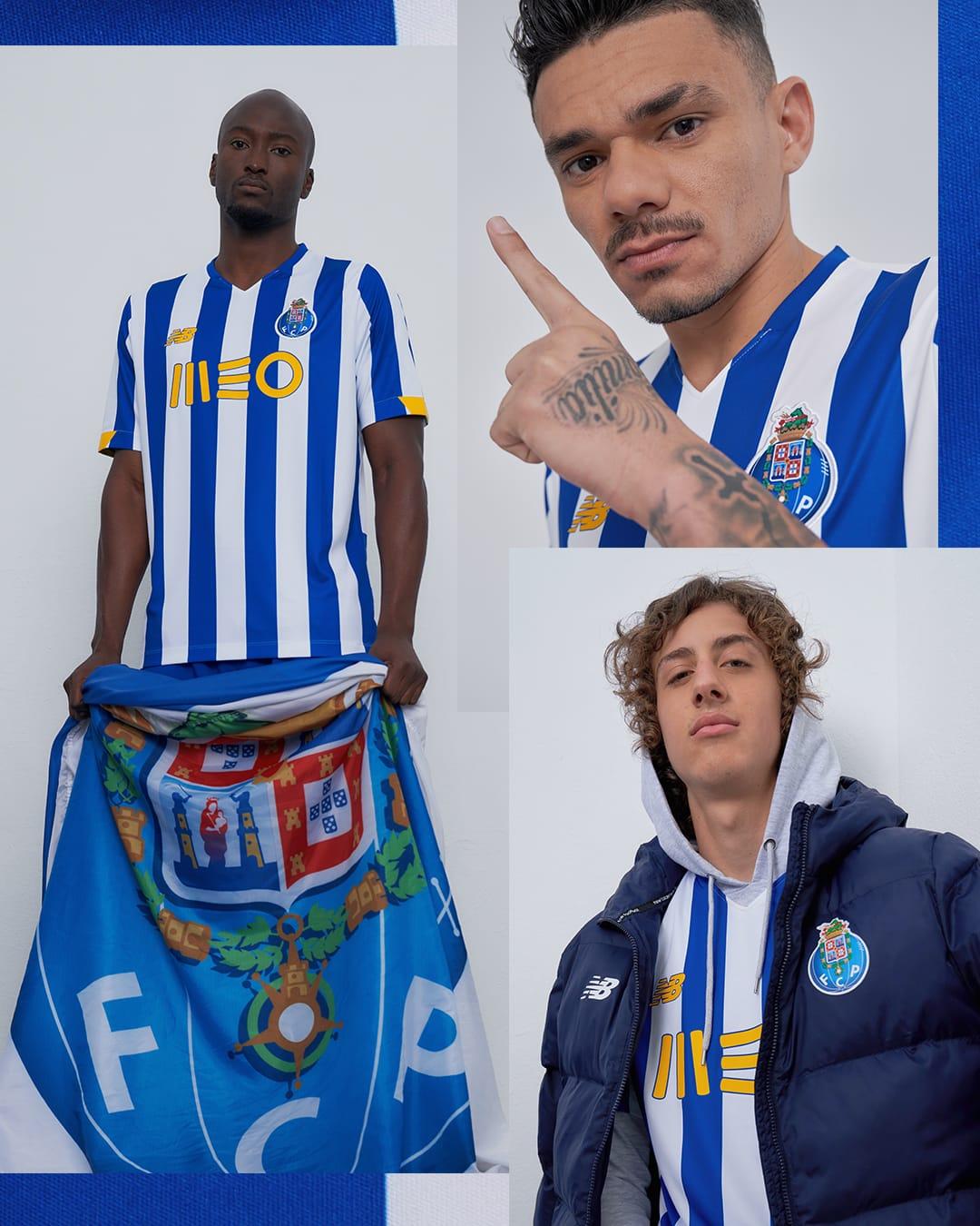 FC Porto 2021 nouveau maillot de football domicile