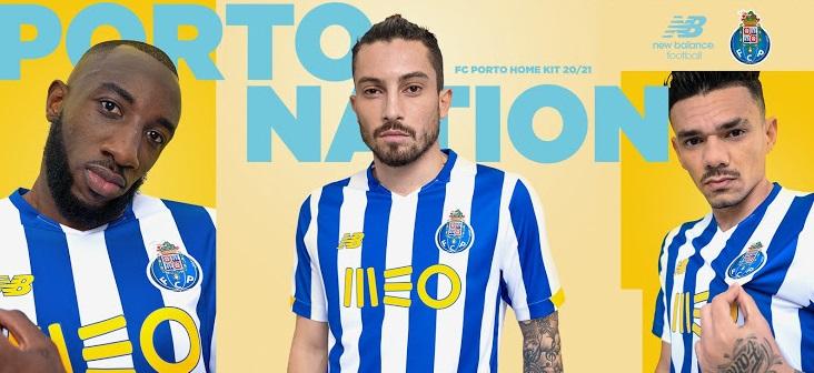 FC Porto 2021 nouveau maillot domicile officiel