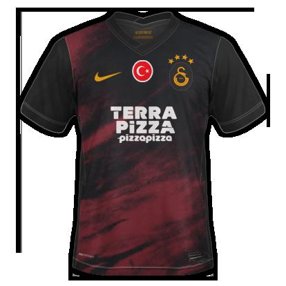 Galatasaray 2021 maillot de foot exterieur