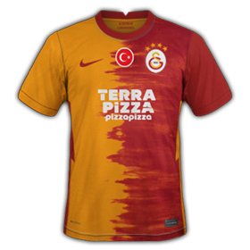 Galatasaray 2021 maillot de foot domicile