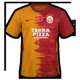 Galatasaray 2021 maillot de foot domicile