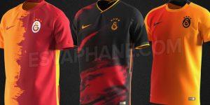 Galatasaray 2021 nouveaux maillots de foot