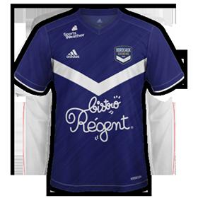 Girondins Bordeaux 2021 maillot domicile
