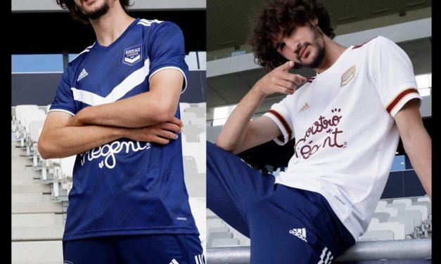 Girondins de Bordeaux 2021 les nouveaux maillots de foot