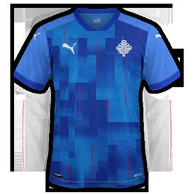 Islande Euro 2020 maillot domicile