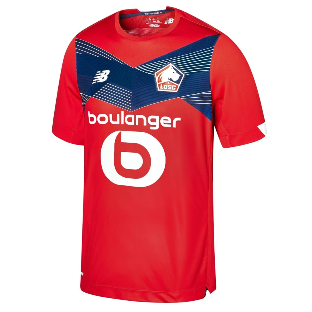 Lille 2021 maillot domicile foot LOSC