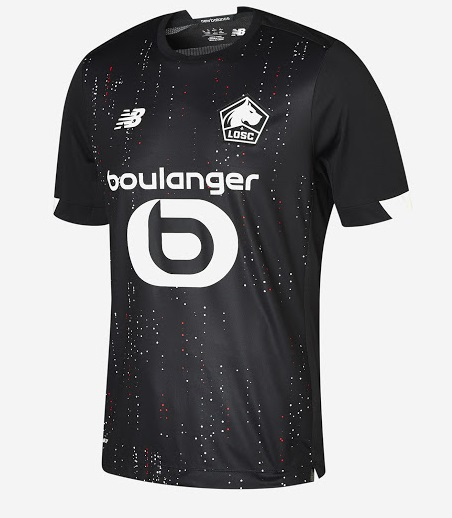Lille 2021 maillot exterieur foot
