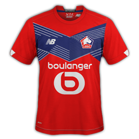 Lille 2021 maillot foot domicile LOSC