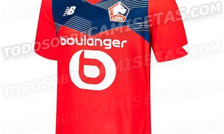 LOSC les nouveaux maillots de foot de Lille 2021
