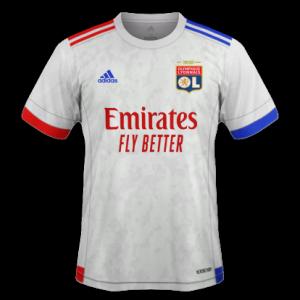 OL 2021 nouveau maillot domicile Lyon