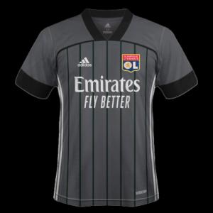 OL 2021 nouveau maillot exterieur Lyon Adidas
