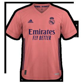 Real Madird 2021 maillot de foot exterieur