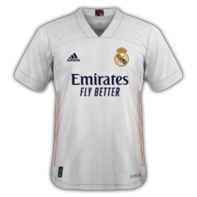 Real Madrid 2021 maillot domicile foot