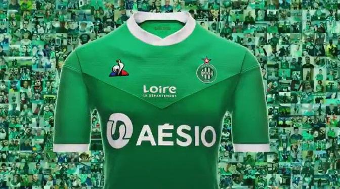 Saint Etienne 2021 maillot domicile