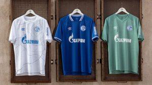 Schalke 2021 les nouveaux maillots de foot