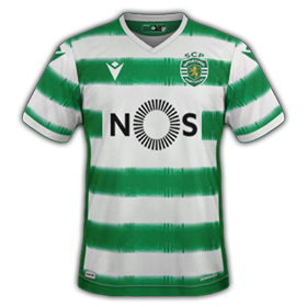 Sporting 2021 maillot domicile foot Macron