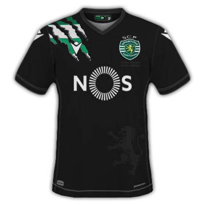 Sporting 2021 maillot exterieur foot