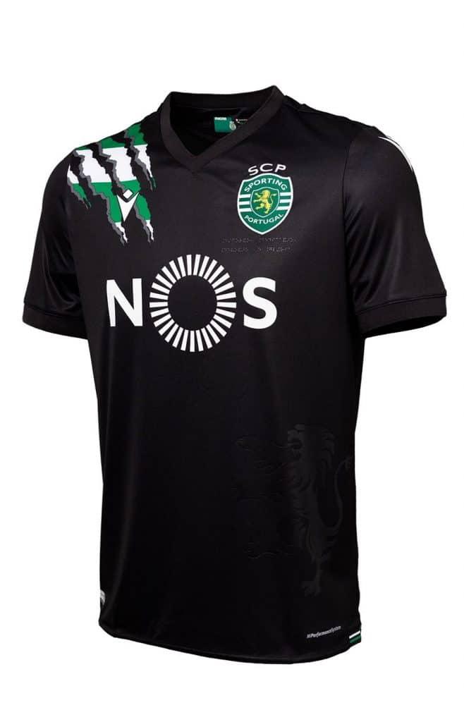 Sporting 2021 nouveau maillot de foot exterieur