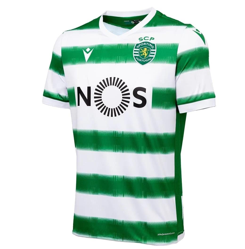 Sporting CP 2021 nouveau maillot de foot domicile