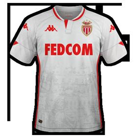 AS Monaco 2021 maillot de foot exterieur