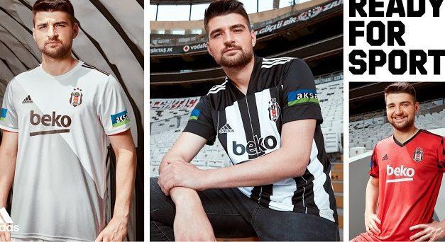 Les nouveaux maillots de Besiktas 2021