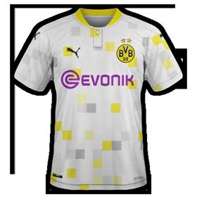 Dortmund 2021 maillot third foot