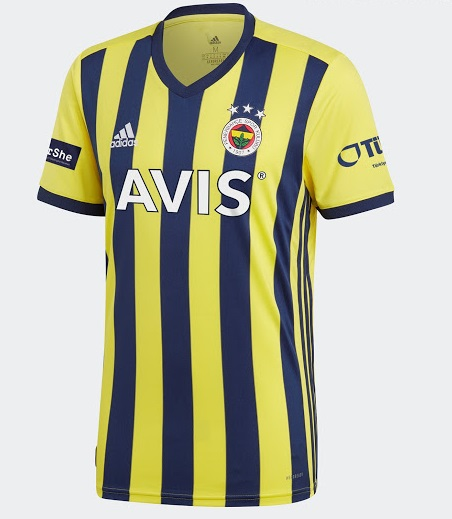 Fenerbahce 201 maillot domicile foot