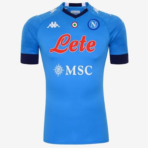 Naples 2021 maillot domicile football