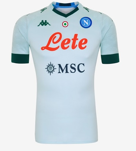 Naples 2021 maillot exterieur
