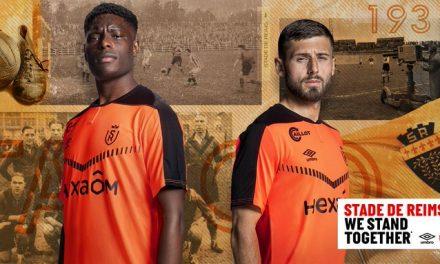 Reims 2021 les 4 nouveaux maillots de foot Umbro