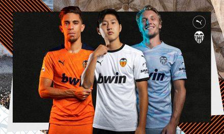 Les nouveaux maillots de foot FC Valence 2021
