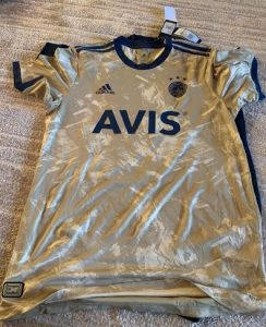 fenerbahce 2021 maillot exterieur Adidas