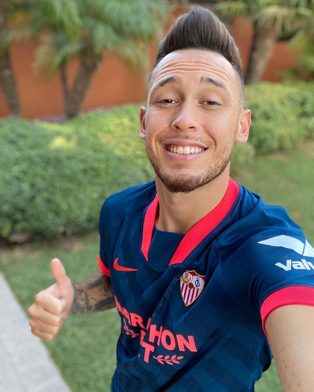 FC Seville 2021 3eme maillot third football Nike OCAMPOS