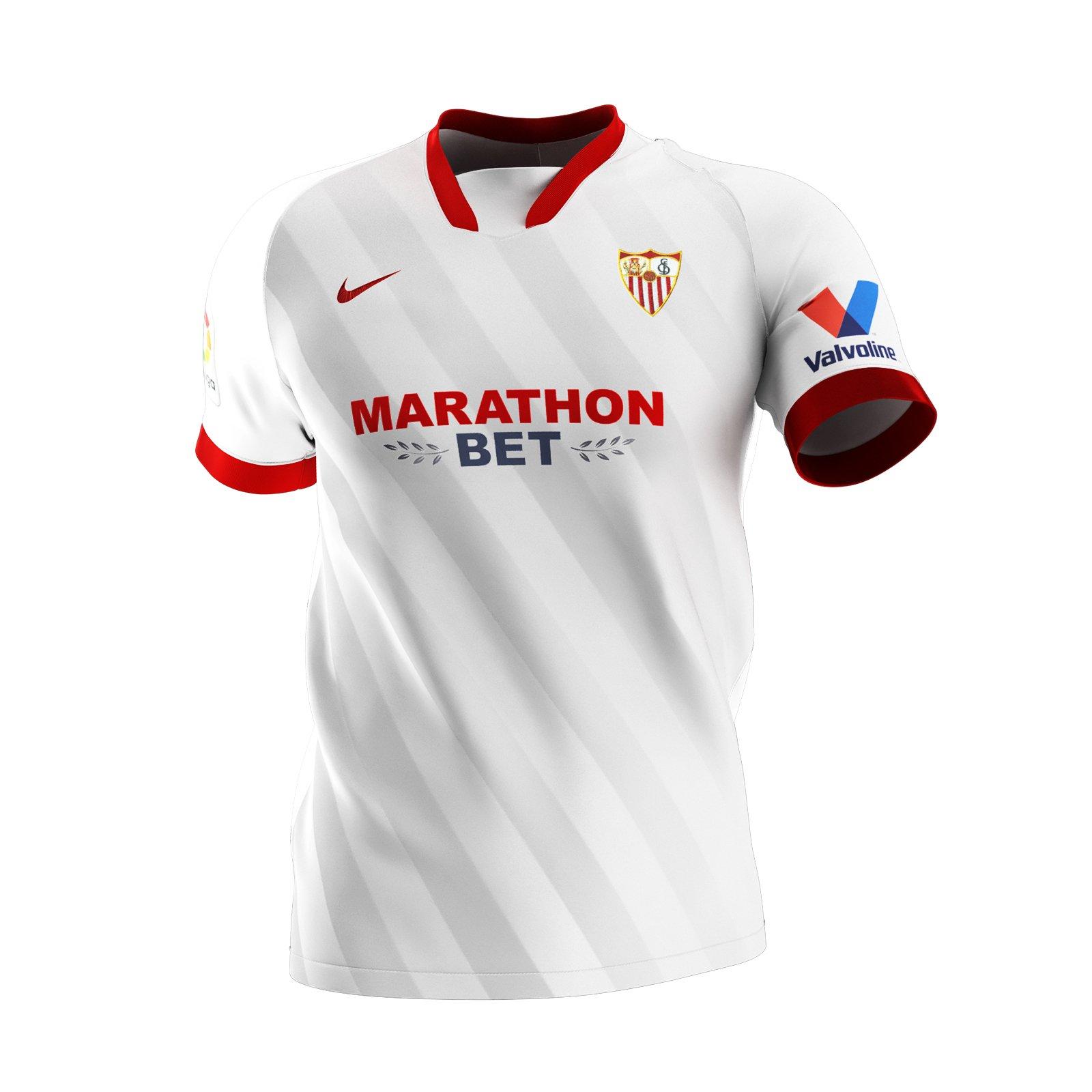 FC Seville 2021 maillot domicile foot