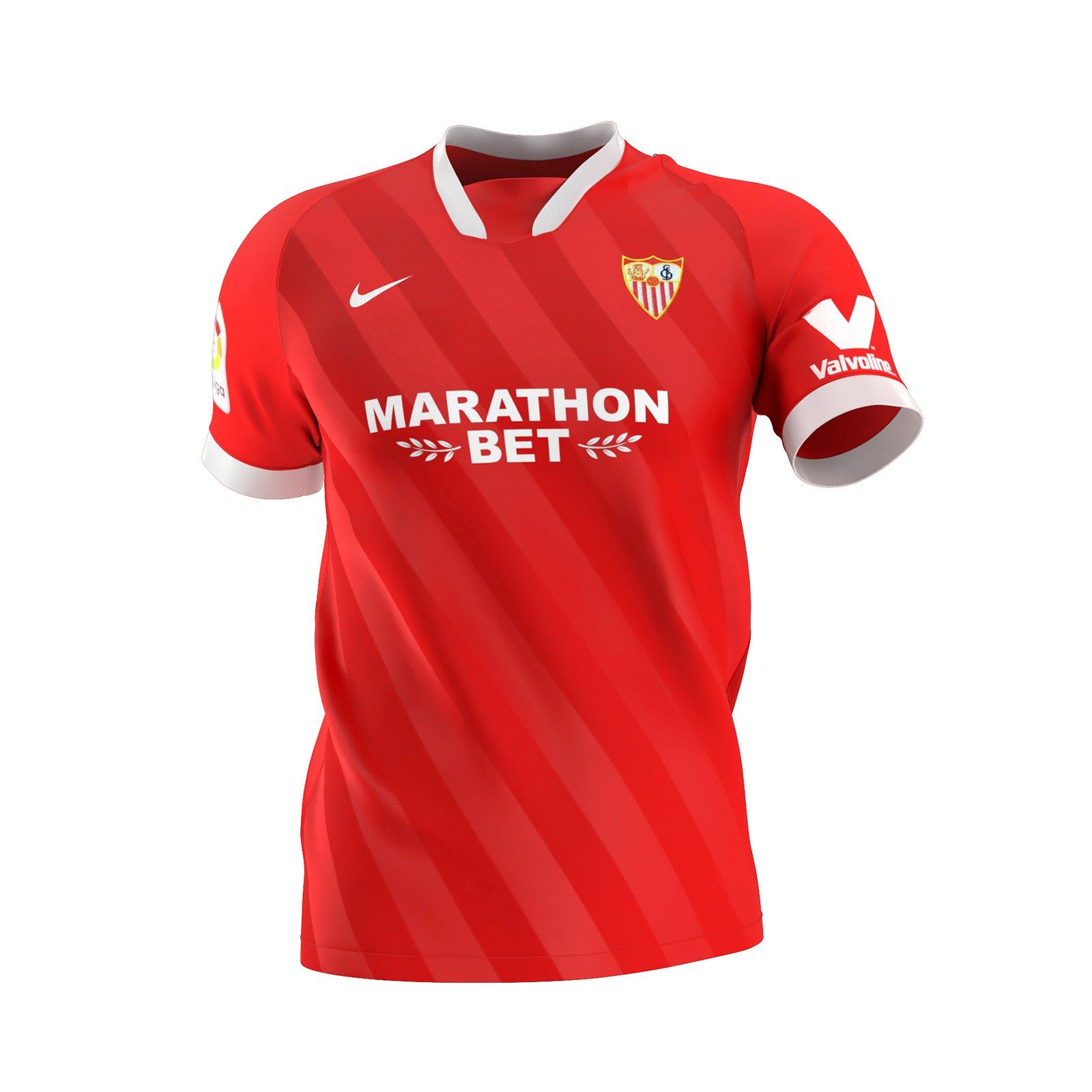 FC Seville 2021 maillot exterieur foot