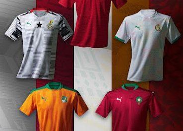 Puma dévoile les maillots des sélections africaines 2020-2021