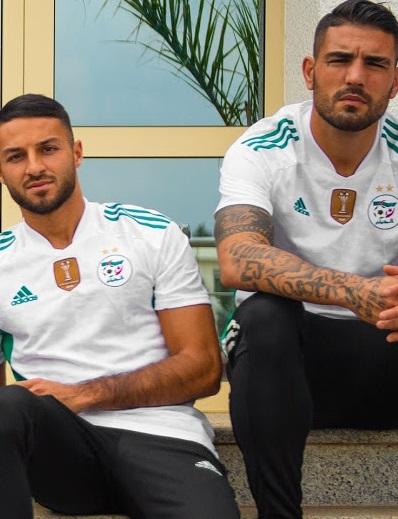 Algerie 2021 maillot de football officiel