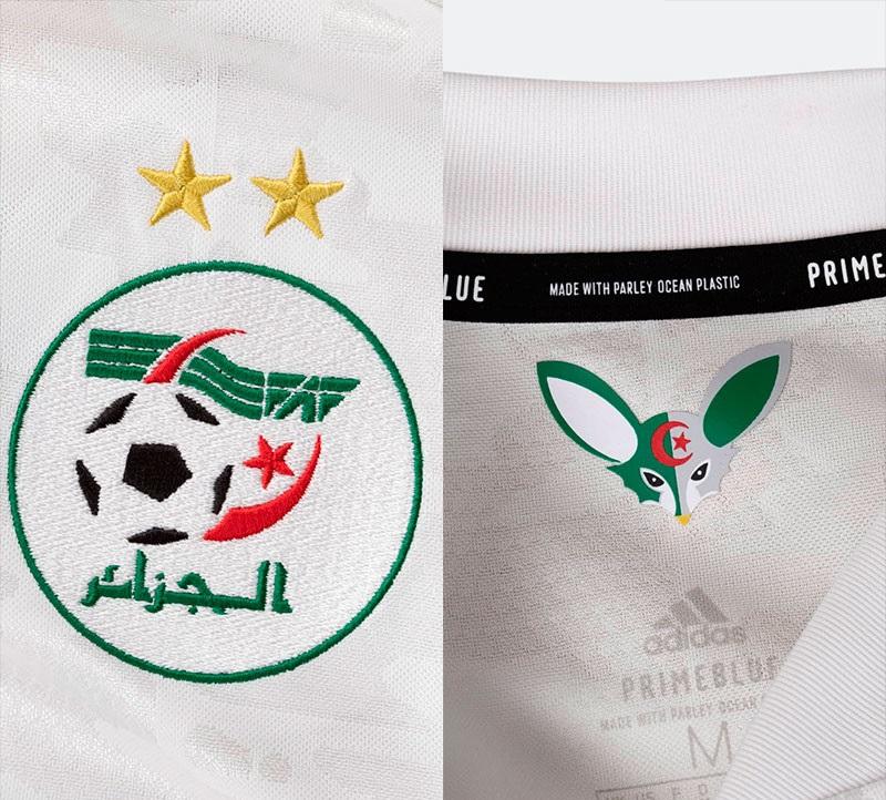 Algerie 2020 2021 nouveau maillot de foot domicile