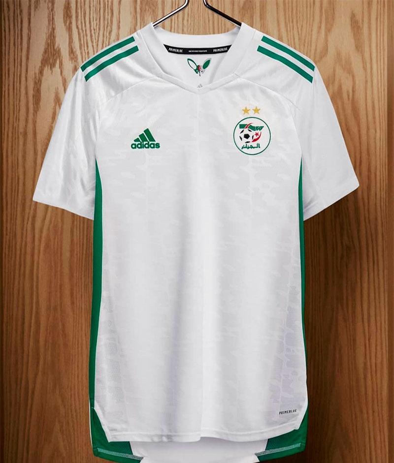Algerie 2020 2021 nouveau maillot domicile Adidas
