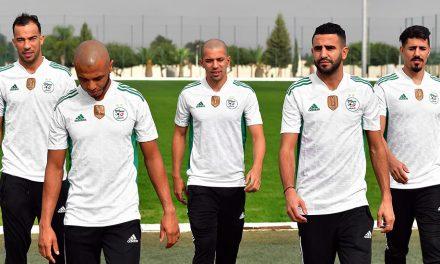 Algérie 2020-2021 les nouveaux maillots avec Adidas