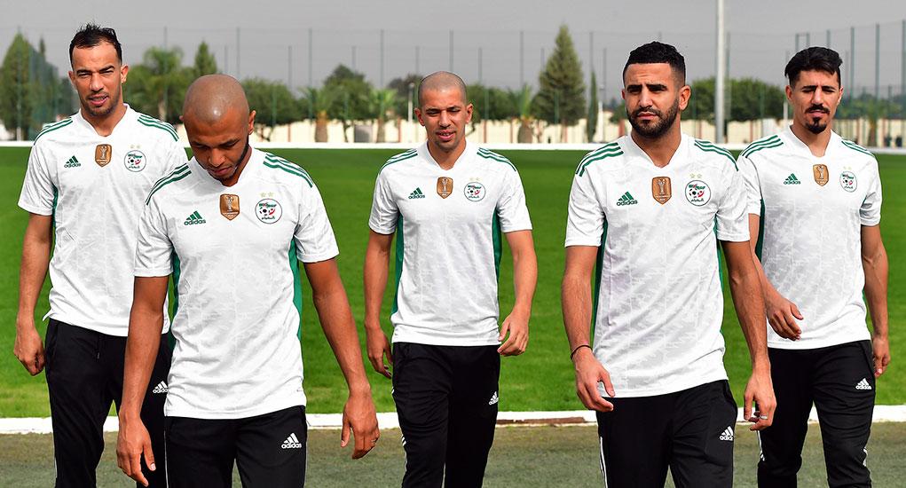 Algerie 2020 2021 nouveau maillot domicile foot