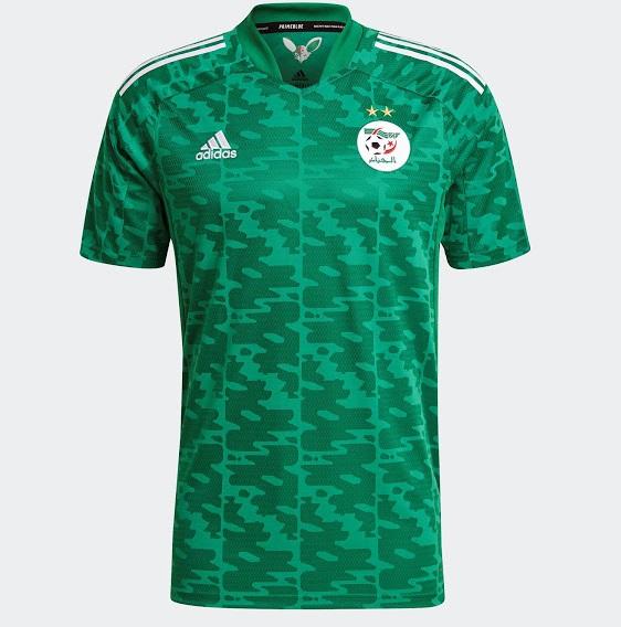 Algerie 2021 maillot exterieur